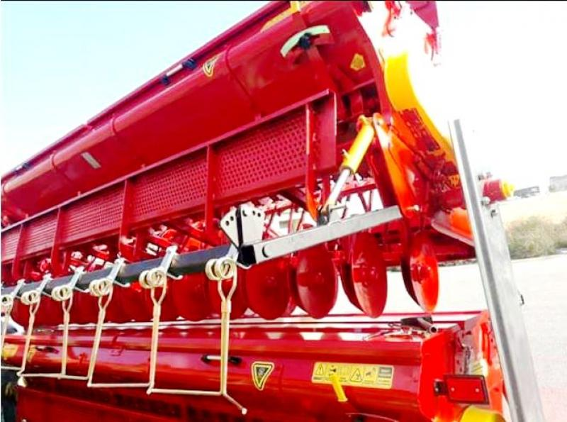 Combined Grain Seed Drill - Double Disc 7