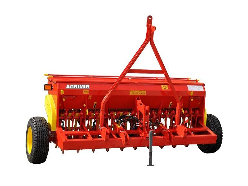 Combined Grain Seed Drill - Double Disc 0