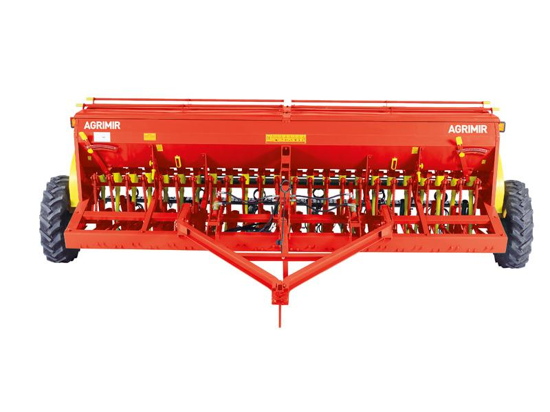 Combined Grain Seed Drill - Double Disc 1