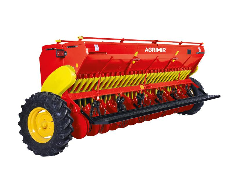 Combined Grain Seed Drill - Double Disc