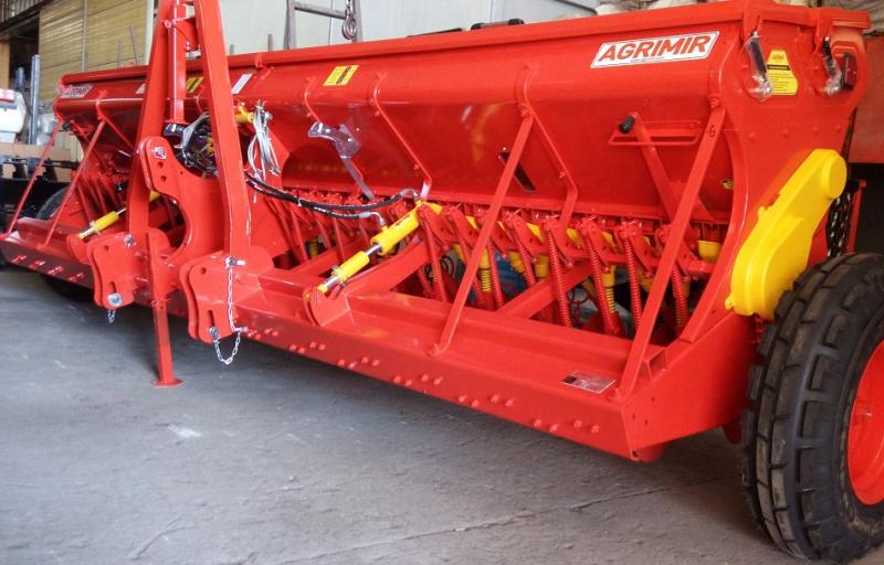 Combined Grain Seed Drill - Single Disc 1