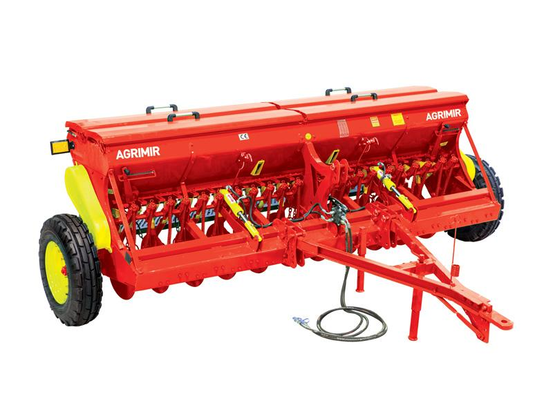 Combined Grain Seed Drill - Single Disc