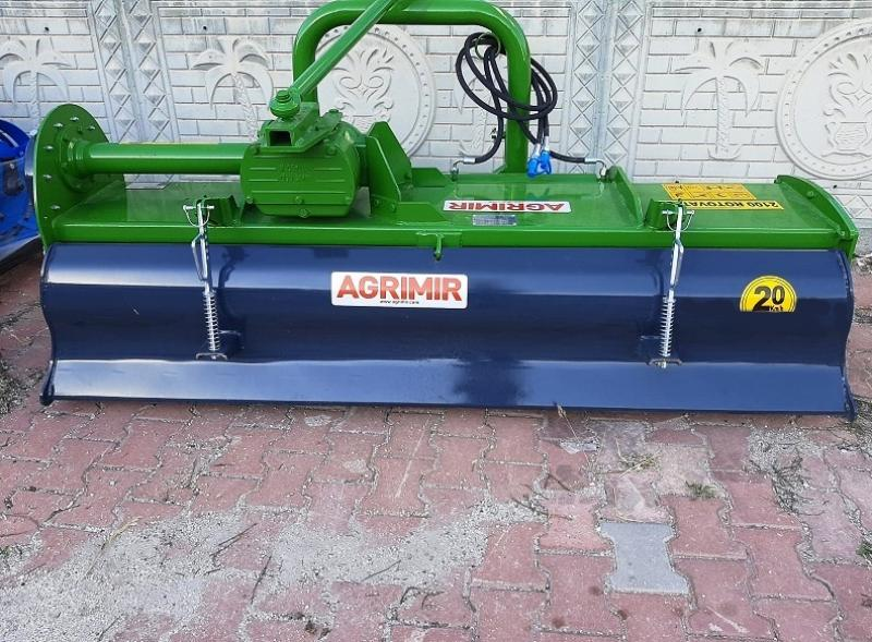 Mechanical & Hydraulic Rotovator 7