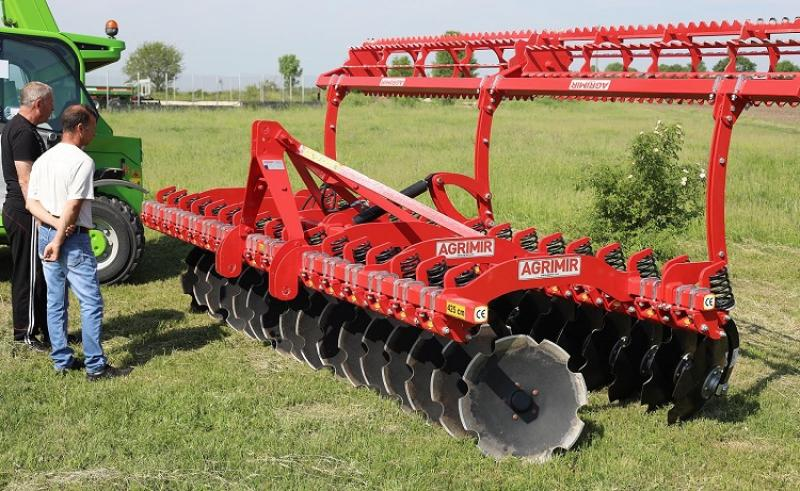 Spring Multi Disc Harrow 1