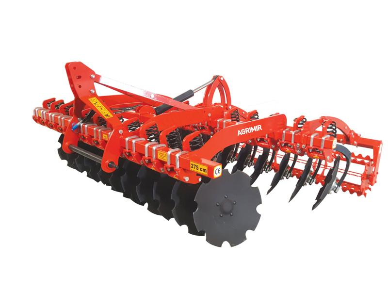 Spring Multi Disc Harrow