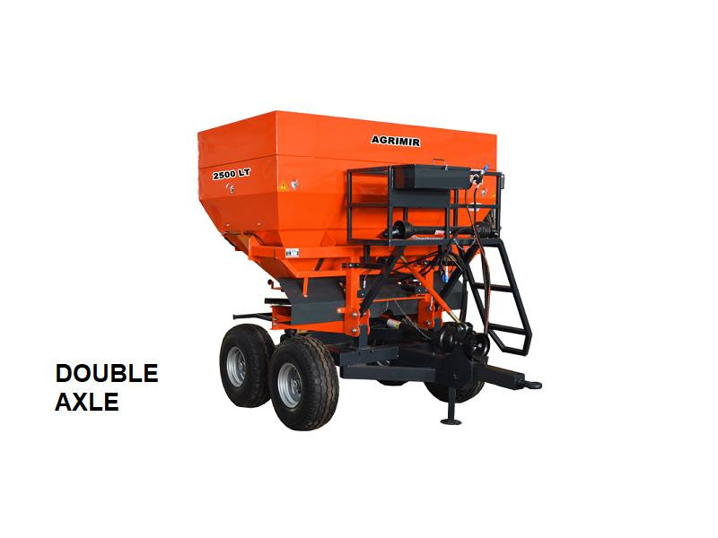 Trailed Fertilizer Spreader 0