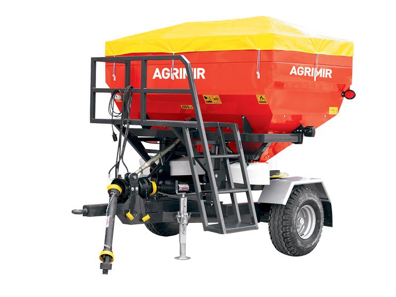 Trailed Fertilizer Spreader