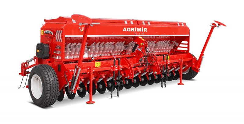 Universal Seed Drill - Double Disc